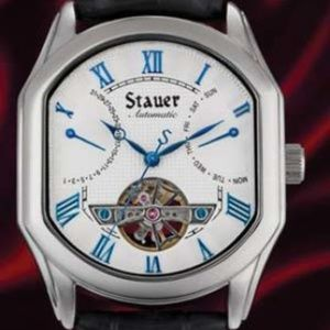 STAUER SALLE MEDECIN AUTO WATCH 33 JEWELS WATCH